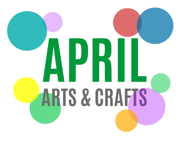 April Crafts For Toddlers  Seasonal Arts and Crafts for the Month of April April s