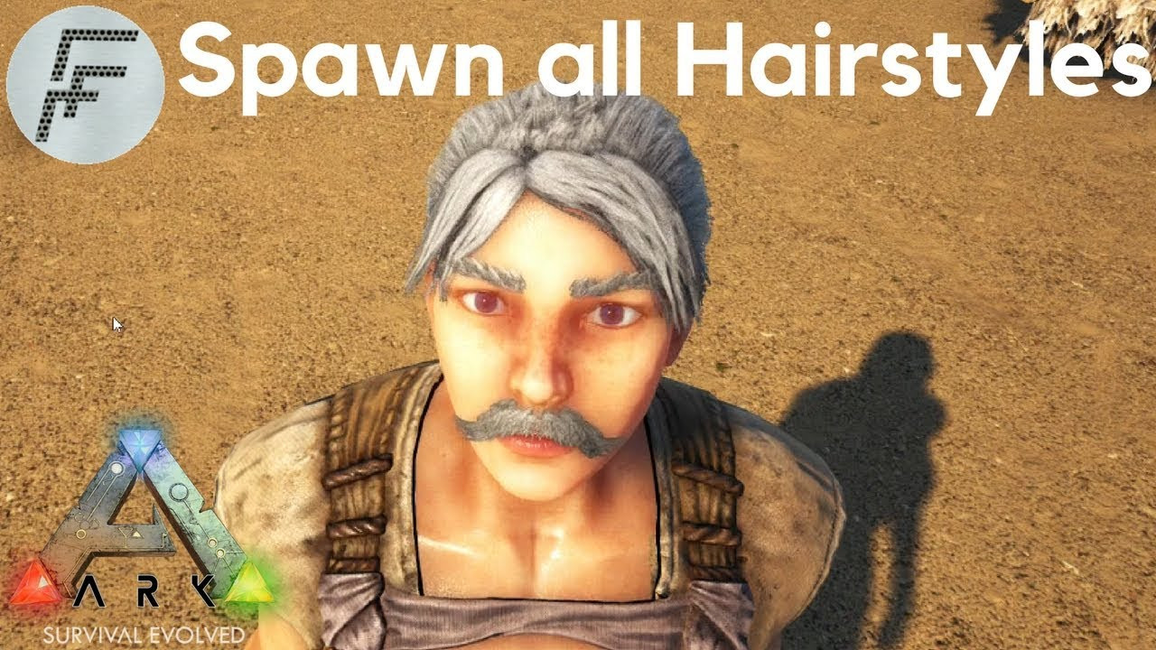 Ark Female Hairstyles  How to Spawn all Hair styles ARK Survival Evolved