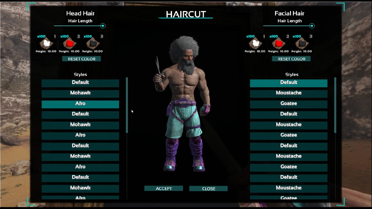Ark Female Hairstyles  Ark Scorched Earth Checking Out The Hair Update W