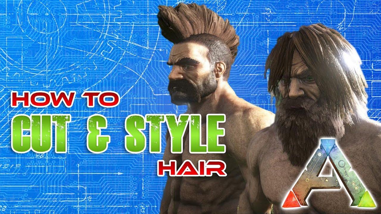 Ark Female Hairstyles  How to cut hair in ARK Hair cut Tutorial
