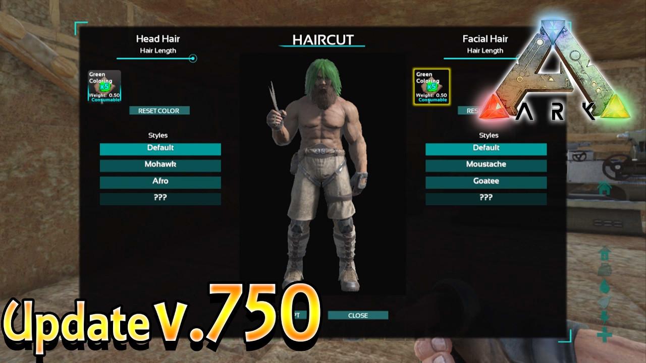Ark Female Hairstyles  ARK Xbox e New Update v750 How To Cut & Dye Hair