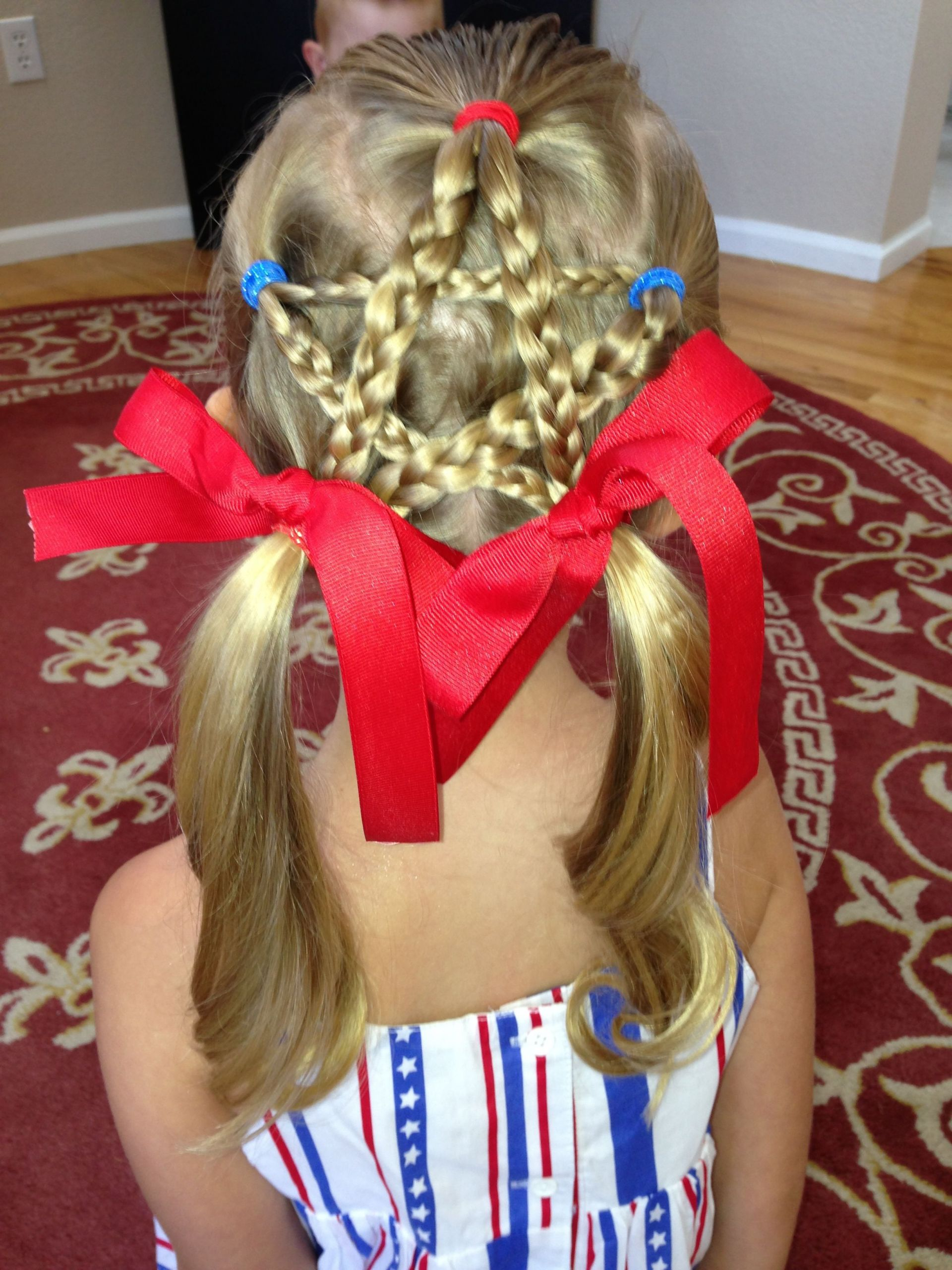 Ark Female Hairstyles  4th of July hair for girls