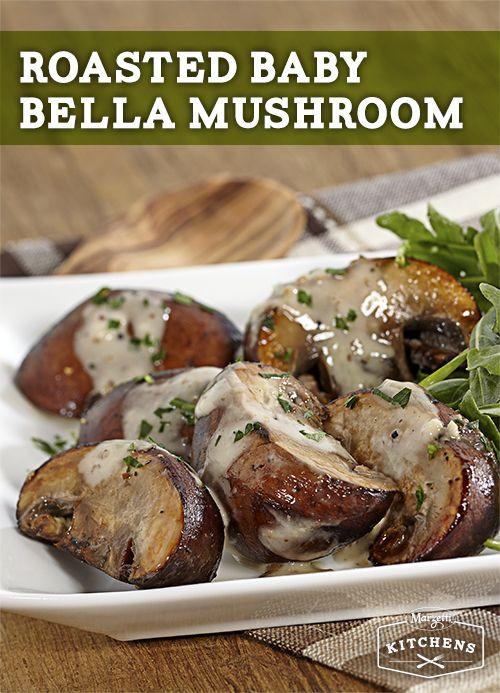 Baby Bella Mushrooms Recipes  Roasted Baby Bella Mushrooms Recipe