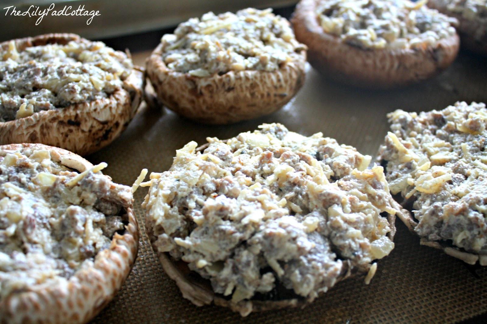 Baby Bella Mushrooms Recipes  Stuffed Baby Bella Mushrooms The Lilypad Cottage