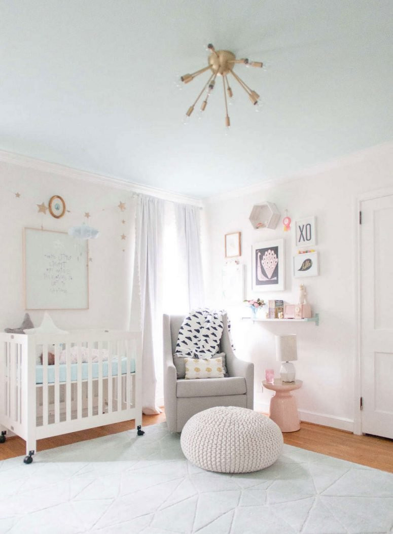 Baby Girl Room Decoration  33 Most Adorable Nursery Ideas for Your Baby Girl