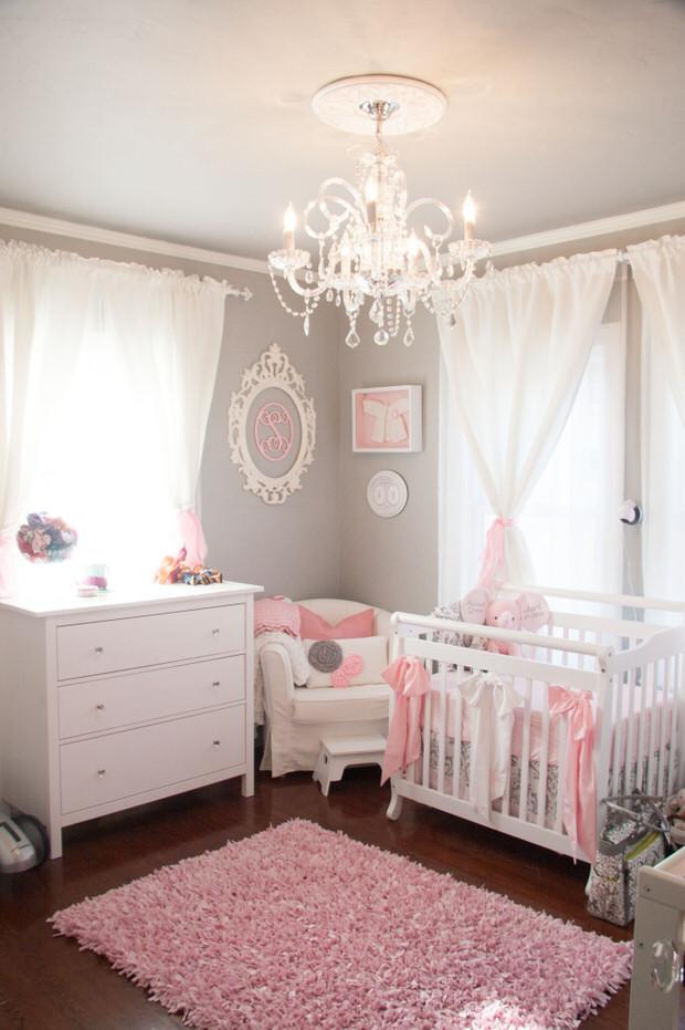 Baby Girl Room Decoration  DIY Nursery & Baby Room Decorating • The Bud Decorator