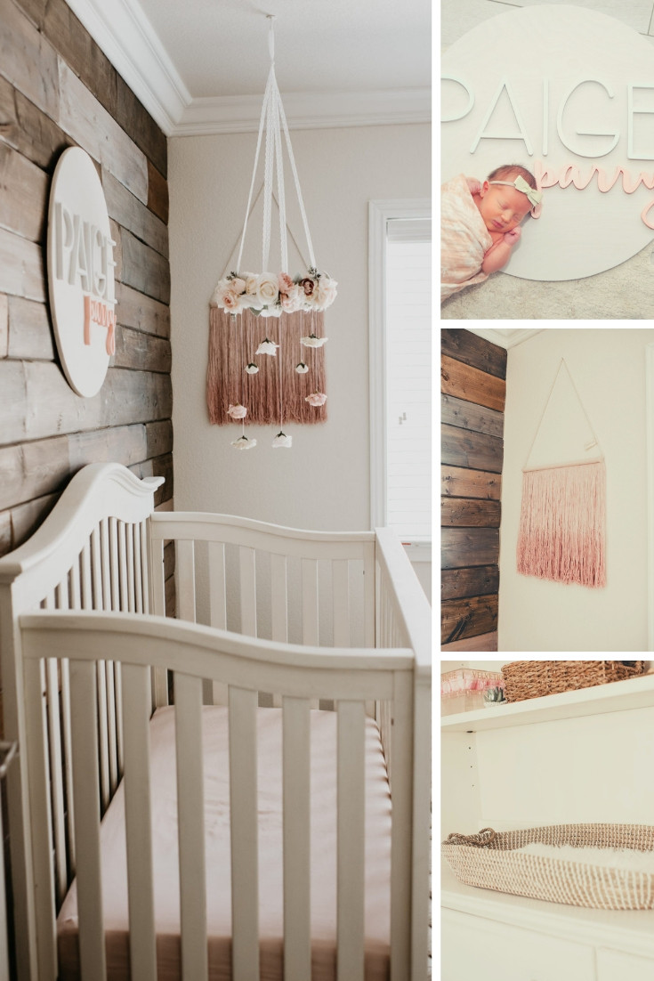 Baby Girl Room Decoration  The Cutest Baby Girl Nursery Decor Home
