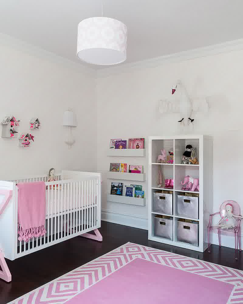 Baby Girl Room Decoration  12 Playful Pink Nursery Room Ideas For Your Baby Girl