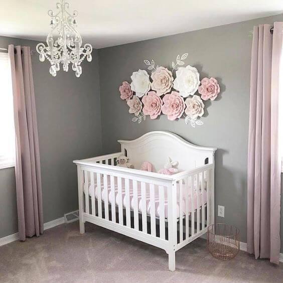 Baby Girl Room Decoration  50 Inspiring Nursery Ideas for Your Baby Girl Cute