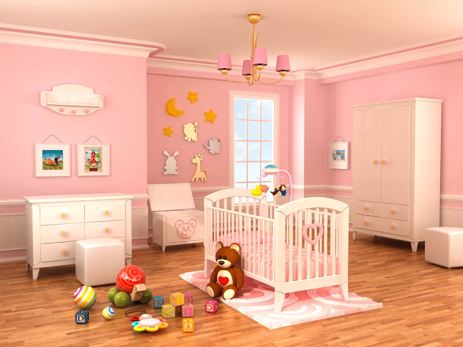 Baby Girl Room Decoration  18 Baby Girl Nursery Ideas Themes & Designs