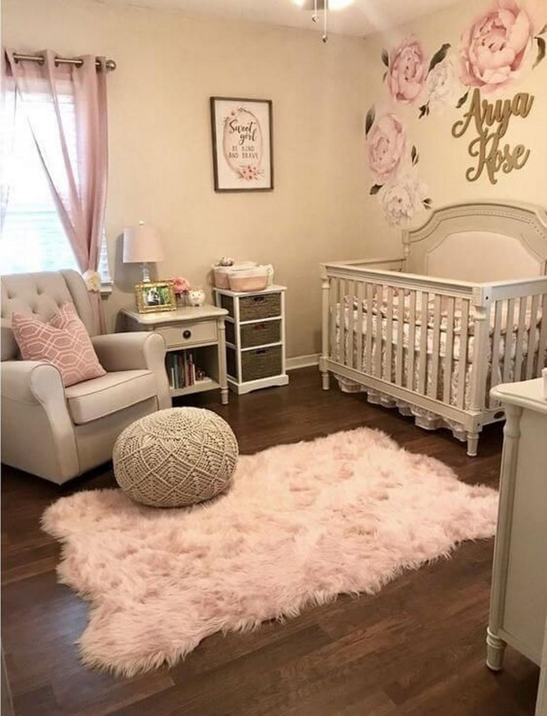 Baby Girls Room Decor Ideas  17 Cute Nursery Ideas For Your Baby Girl House & Living