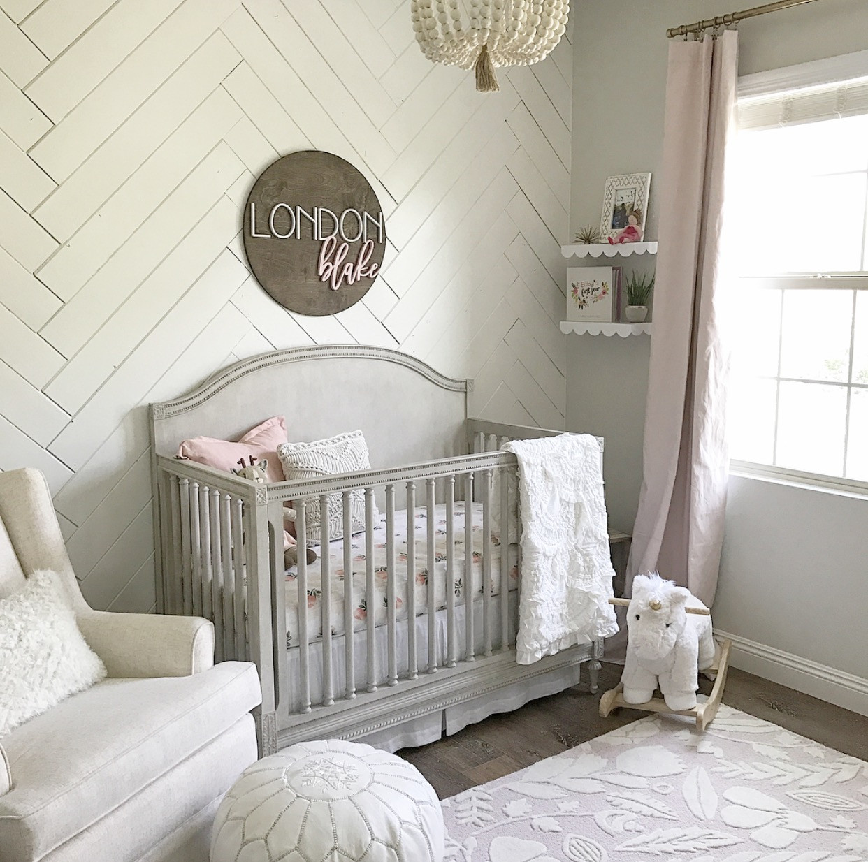Baby Girls Room Decor Ideas  Sweet Baby Girl Nursery Project Nursery