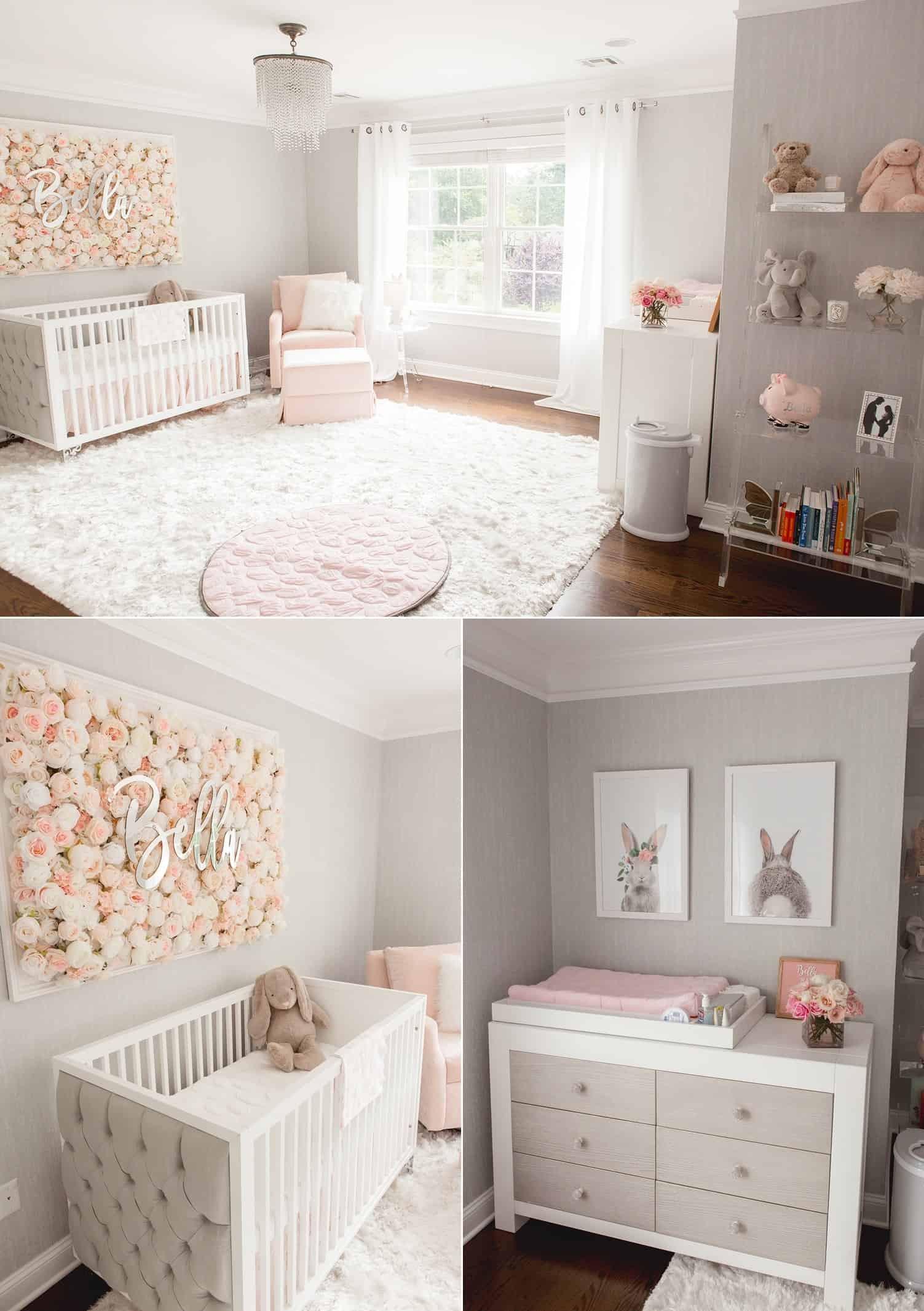 Baby Girls Room Decor Ideas  Baby Girl Bedroom Ideas Remodel Move