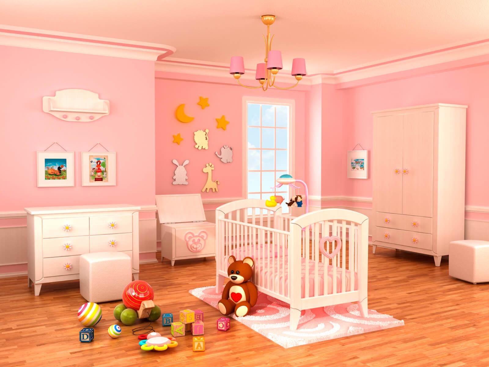 Baby Girls Room Decor Ideas  18 Baby Girl Nursery Ideas Themes & Designs