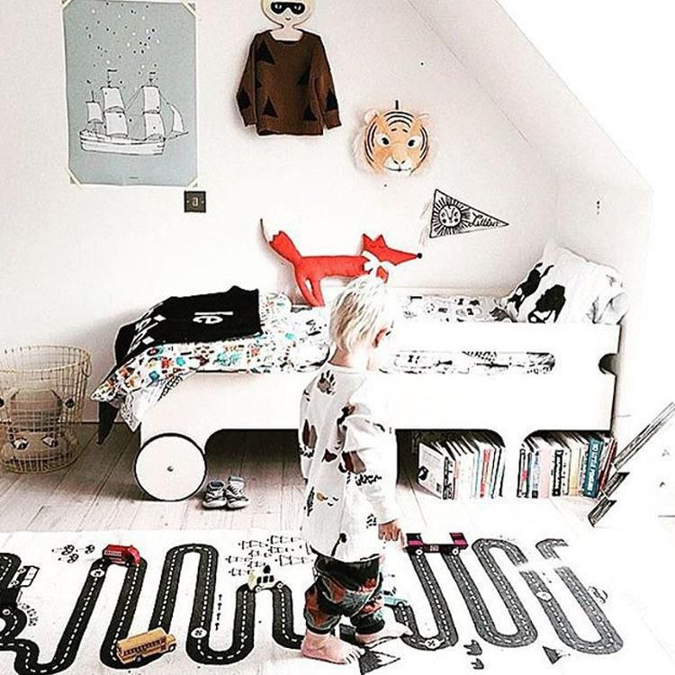 Baby Room Decorating Games  Road Print Adventure Game Play Mat Carpet