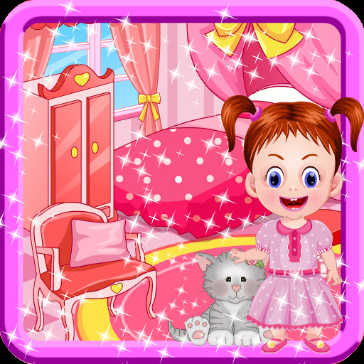 Baby Room Decorating Games  Amazon Room Decoration Games for Girls with Baby