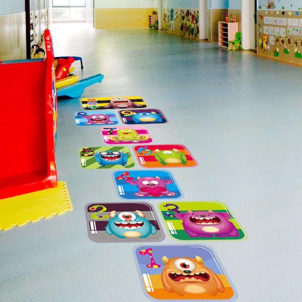 Baby Room Decorating Games  Creative Jump Lattice House Game cartoon Monster Floor