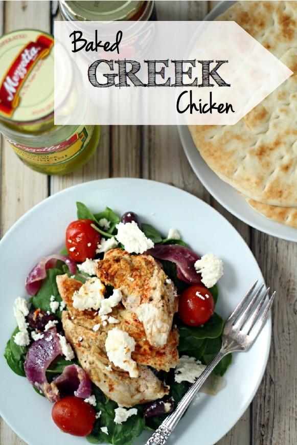 Baked Greek Chicken Recipe  Baked Greek Chicken The Wanderlust Kitchen