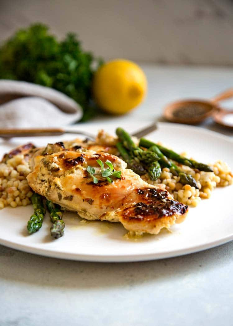 Baked Greek Chicken Recipe  Easy Baked Greek Chicken Kevin Is Cooking