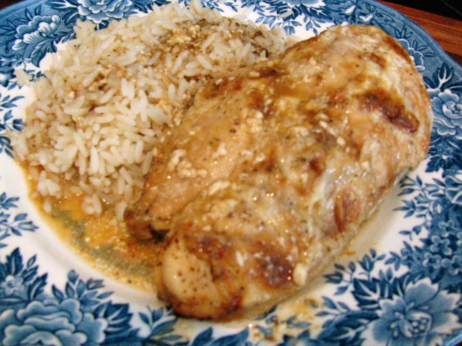 Baked Greek Chicken Recipe  Rita s Recipes Baked Greek Chicken