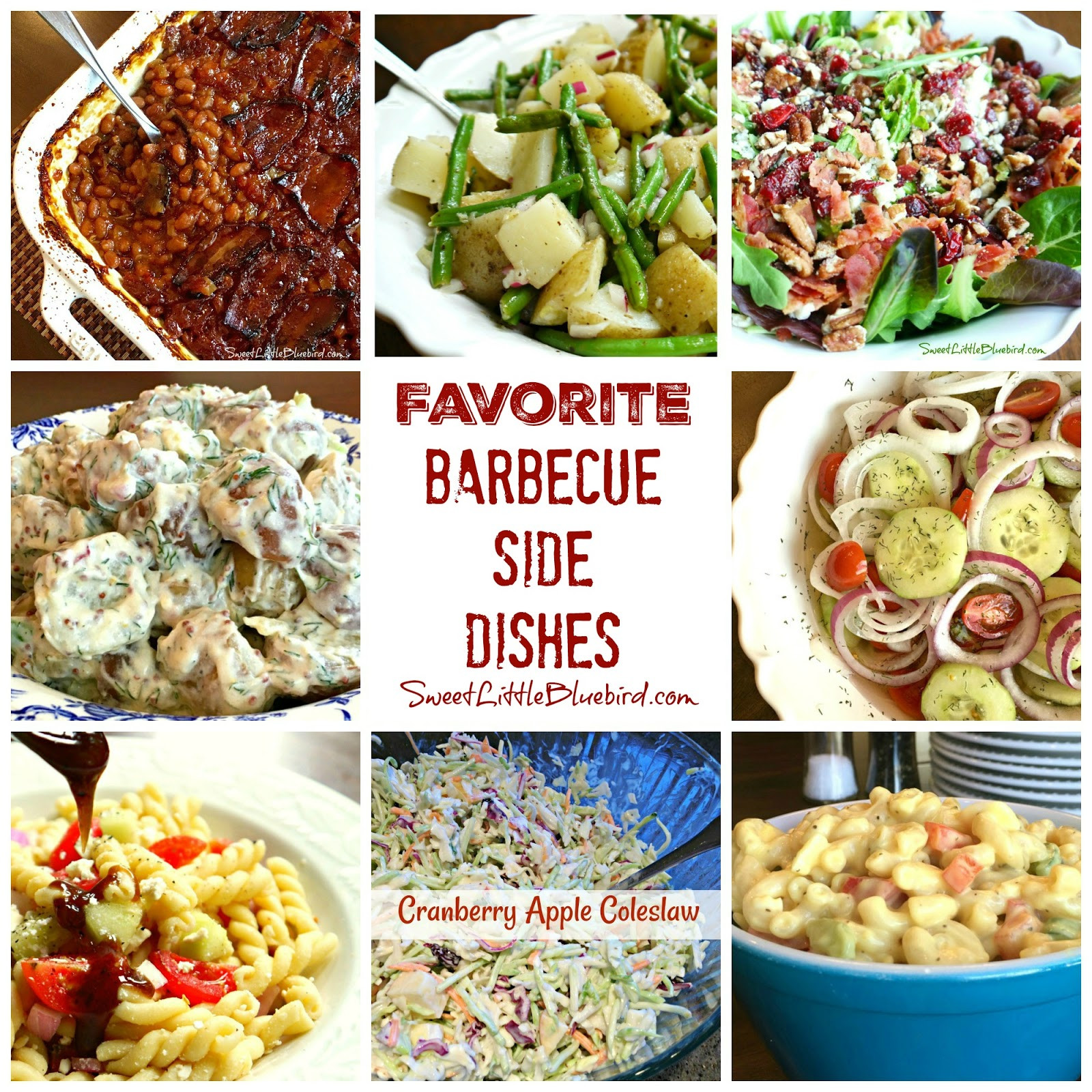 Barbecue Side Dishes  Favorite Barbecue Side Dishes Sweet Little Bluebird