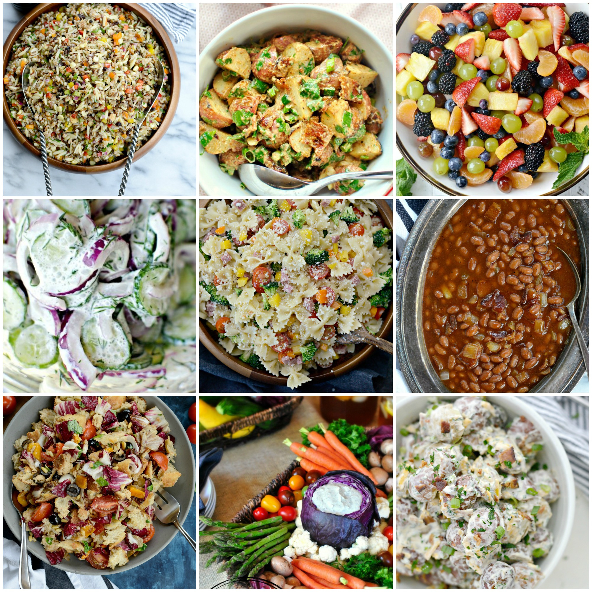 Barbecue Side Dishes  Simply Scratch 25 Best Salads and Side Dishes To Bring To