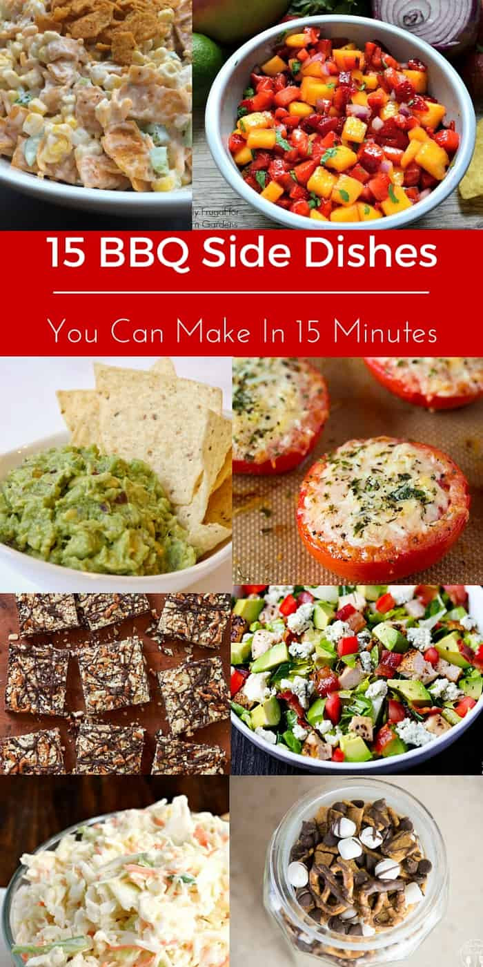 Barbecue Side Dishes  15 BBQ Side Dishes You Can Make In 15 Minutes Tastefully