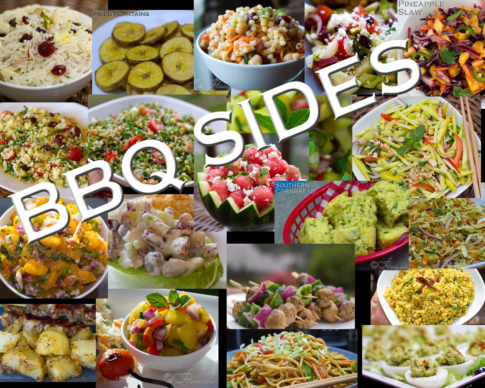 Barbecue Side Dishes  fabulous fridays 20 Awesome BBQ side dishes