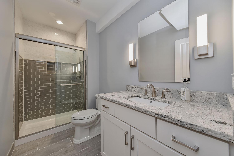 Basement Bathroom Design  Brian & Mary s Basement Bathroom