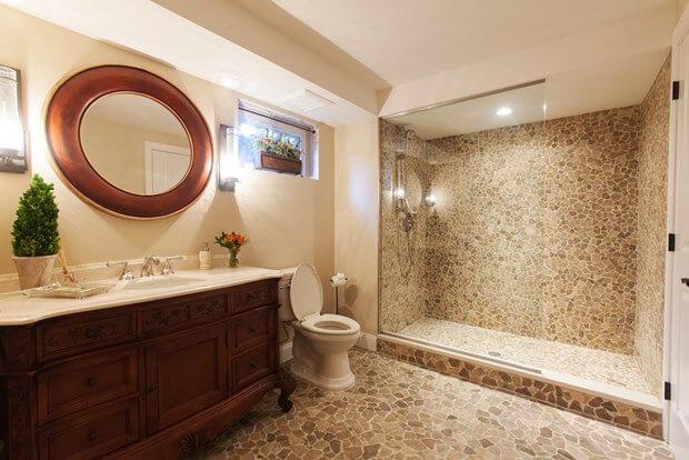 Basement Bathroom Design  Basement Bathroom Design
