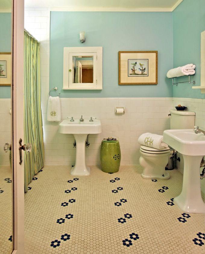Bathroom Tile Floors  20 Functional & Stylish Bathroom Tile Ideas