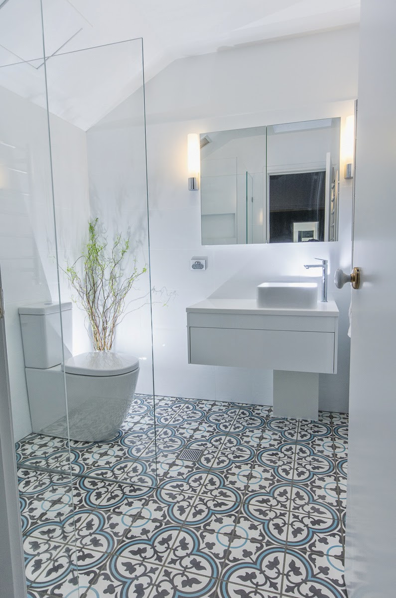 Bathroom Tile Floors  Matilda Rose Interiors New trend in tiles