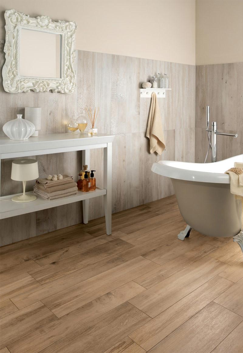 Bathroom Tile Floors  Wood Look Tiles