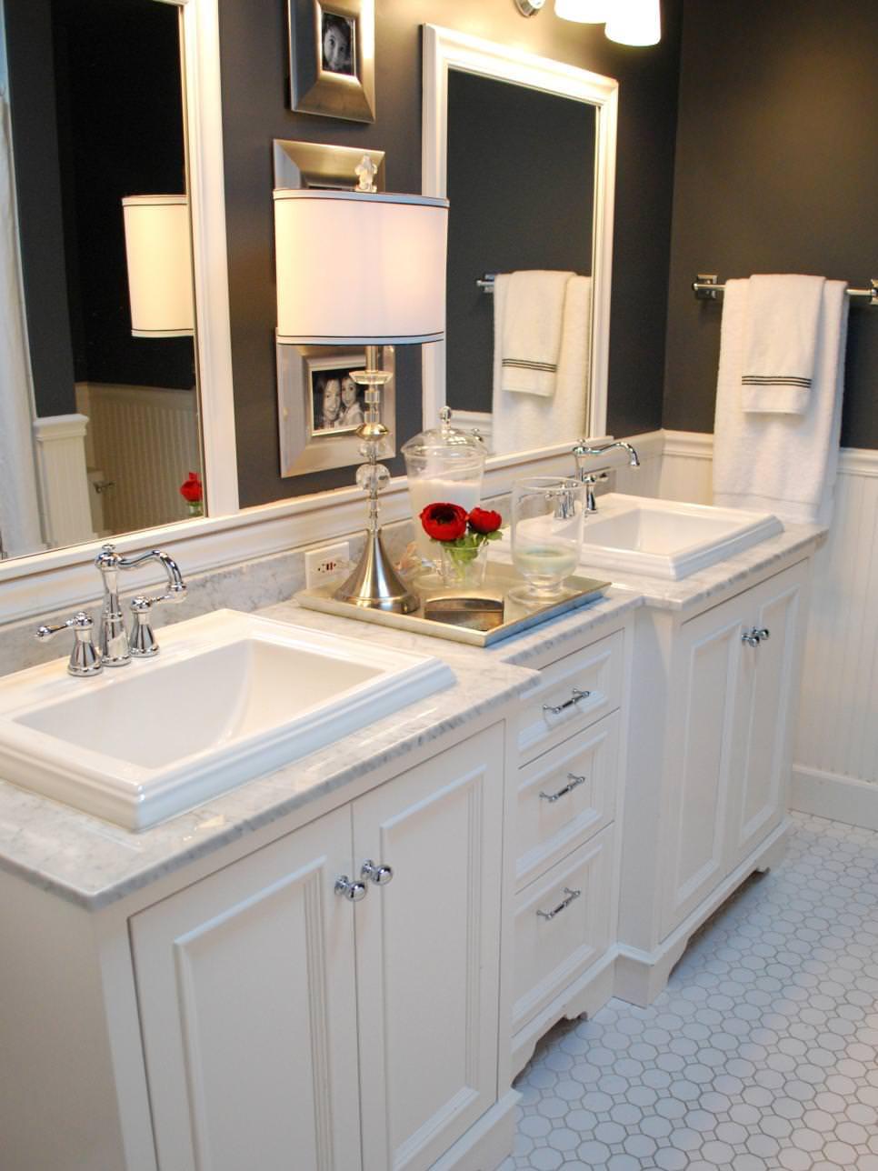 Bathroom Vanity Designs  24 Double Bathroom Vanity Ideas