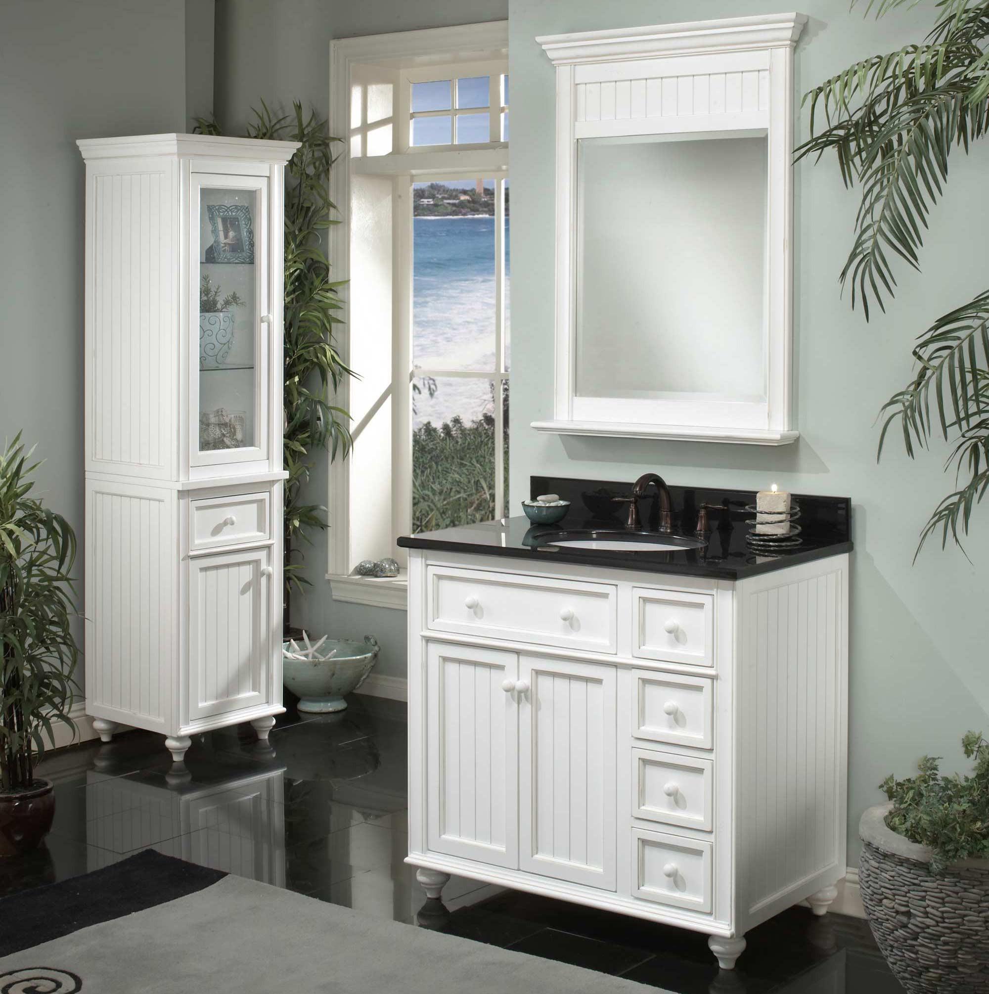 Bathroom Vanity Designs  A Selection of White Bathroom Vanities by Sagehill Designs