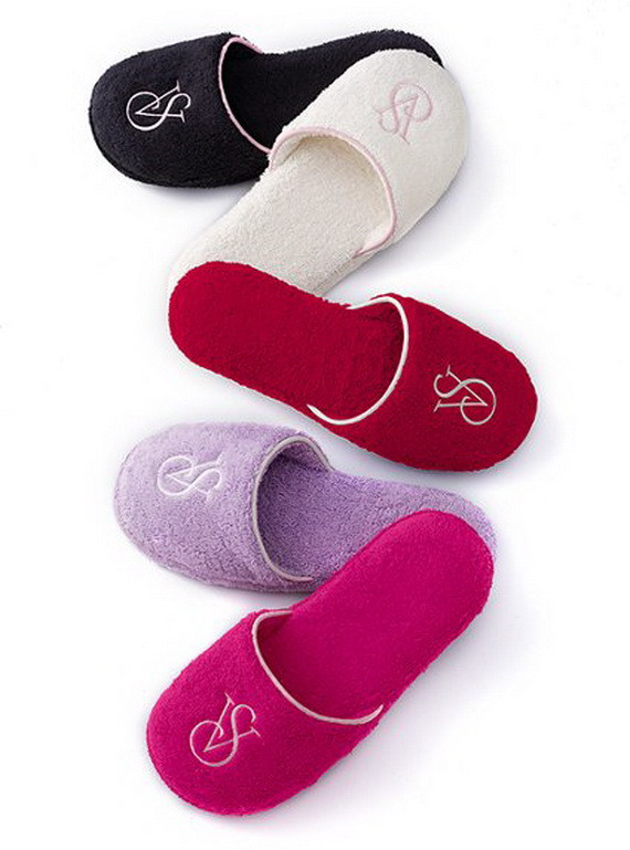 Bedroom Shoes For Womens  Slippers for Women by Victoria's Secret Violet Fashion Art