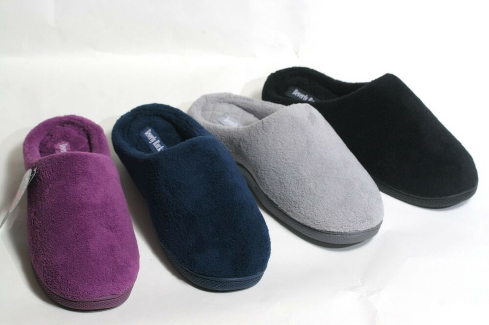 Bedroom Shoes For Womens  NEW WOMEN S WARM & COZY TERRY MEMORY FOAM BEDROOM SLIPPERS