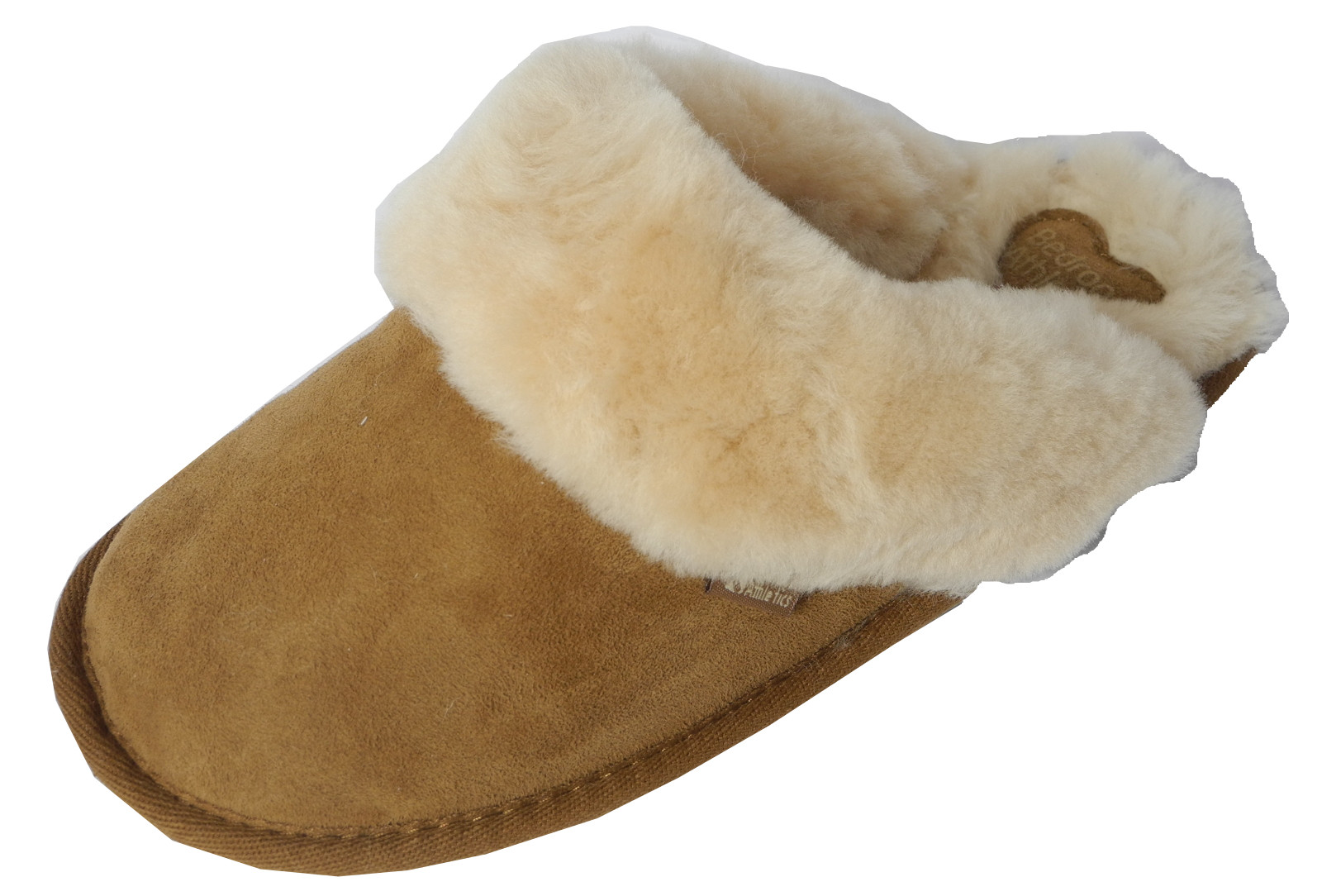 Bedroom Shoes For Womens  Womens La s Bedroom Athletics Sheepskin Suede Mules