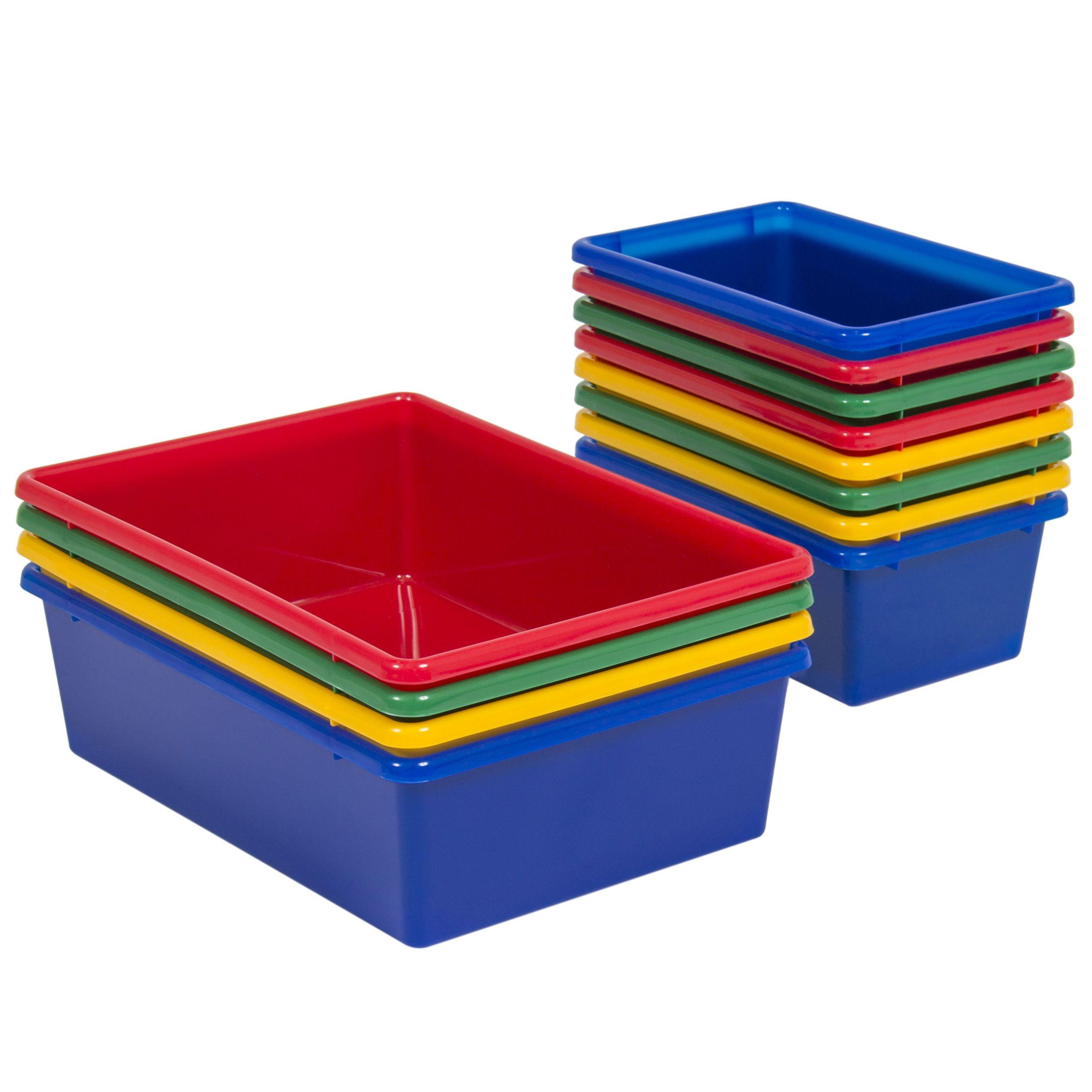 Bedroom Storage Bins  Toy Bin Organizer Kids Childrens Storage Box Playroom