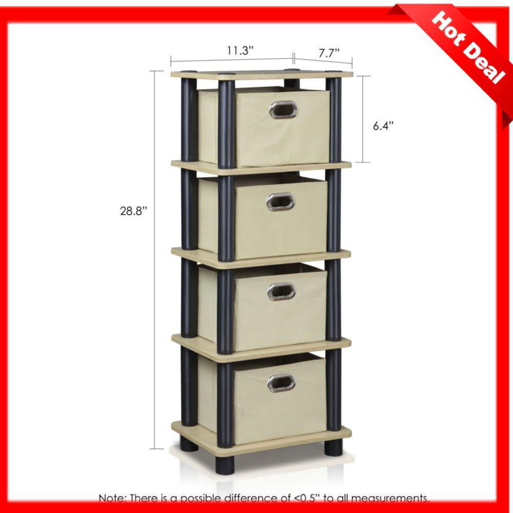 Bedroom Storage Bins  4 Drawer Dresser Bedroom Storage Drawers Furniture Hamper