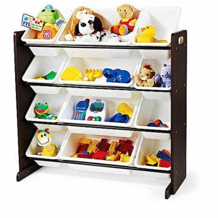 Bedroom Storage Bins  Toy Organizer Children Kids Playroom Storage Bins Bedroom