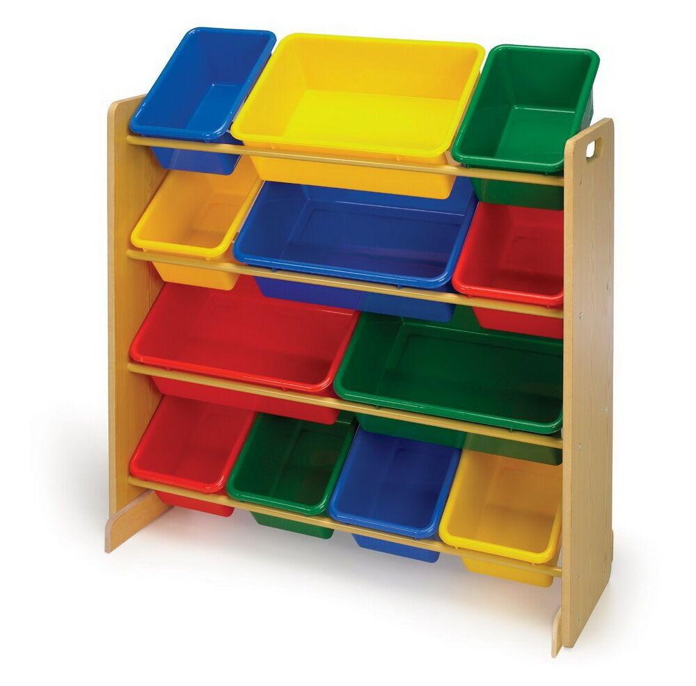Bedroom Storage Bins  New Toy Organizer Storage Bins Box Bedroom Playroom