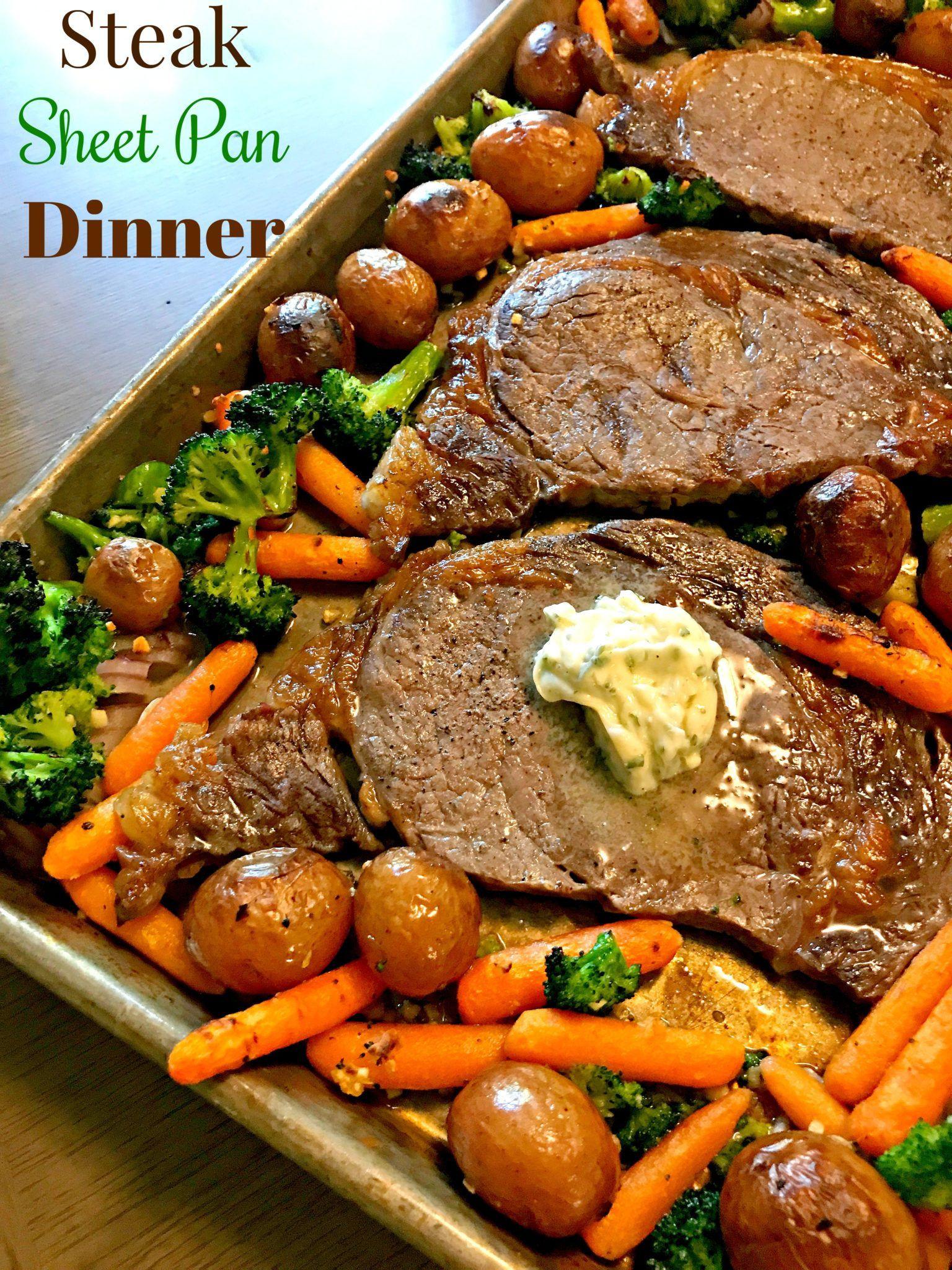 Beef Sheet Pan Dinners  Sheet Pan Steak Dinner Recipe