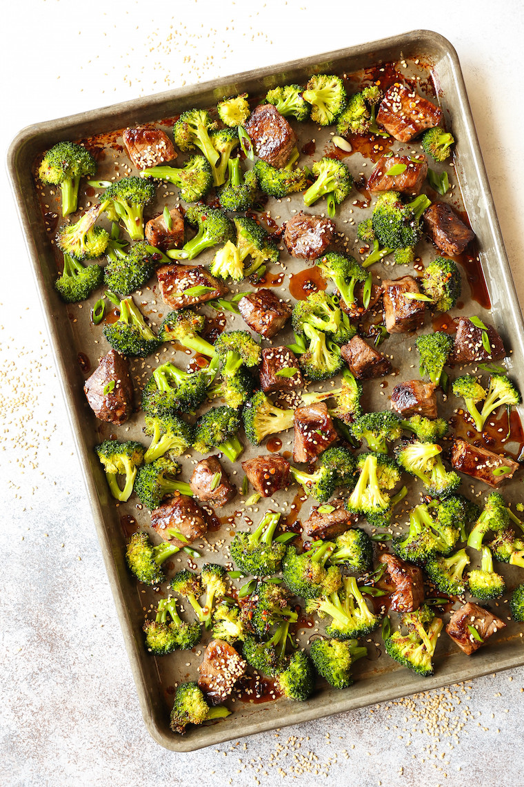 Beef Sheet Pan Dinners  25 Easy Sheet Pan Dinner Recipes I Heart Naptime