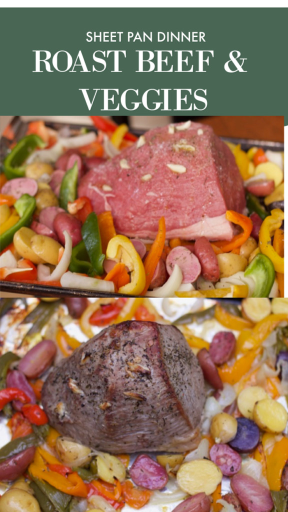 Beef Sheet Pan Dinners  How to Make Roast Beef with Ve ables Sheet Pan Dinner