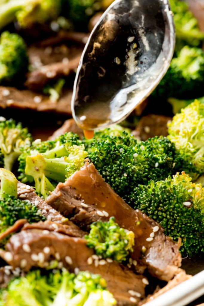 Beef Sheet Pan Dinners  Sheet Pan Beef and Broccoli Easy Peasy Meals