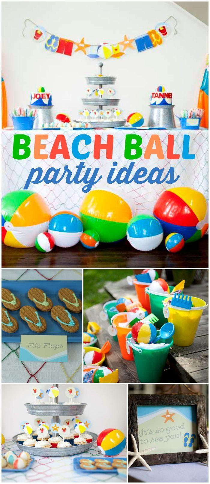 Best Beach Party Ideas  Pin by ArtsyCraftsyMom