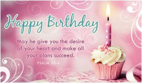 Bible Quotes About Birthdays  Inspirational Birthday Bible Verses Quotes for Friends