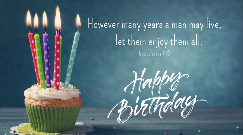 Bible Quotes About Birthdays  Inspiring Bible Verses for Those Celebrating Their Birthday