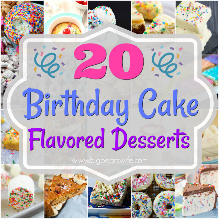 Birthday Cake Flavor Ideas  The 20 Best Ideas for Birthday Cake Flavor Birthday